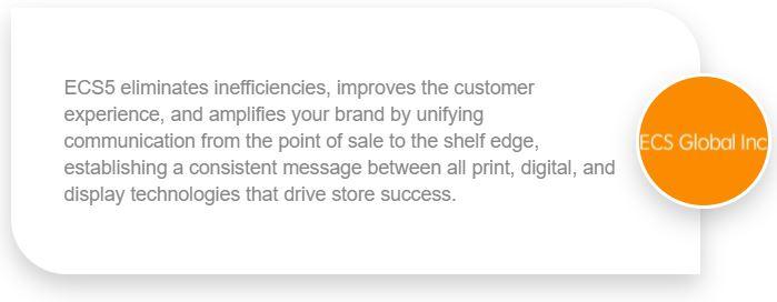ecs5 retail communication solution
